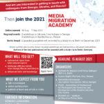 Запрошуємо взяти участь в міжнародній програмі стажування «Медійна академія з питань міграції»